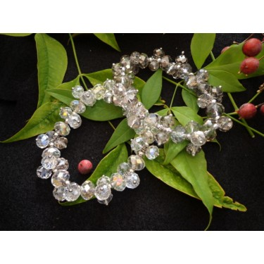 Crystal Bracelet Set (Smokey)