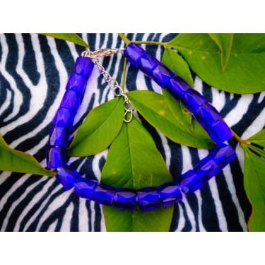 Rich Blue Beads
