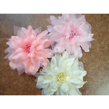 Pastel Floral Brooch/Clip