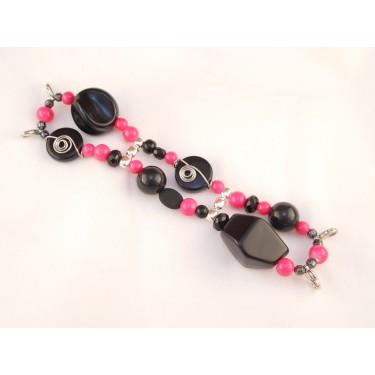 WA01 Hot Pink and Black