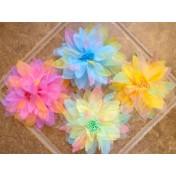 Multi-Color Floral Brooch/Clip