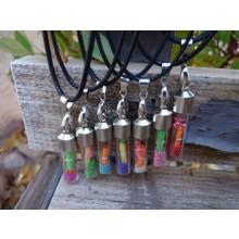 Wish Bottle Pendant Necklace