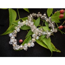 Crystal Bracelet Set (Smokey)