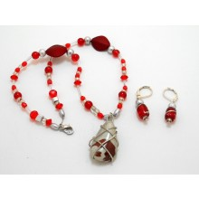 CA30 Red and Grey Stone