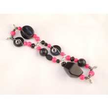 WA01 Hot Pink and Black