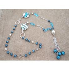 NA71 Royal Blue and Silver